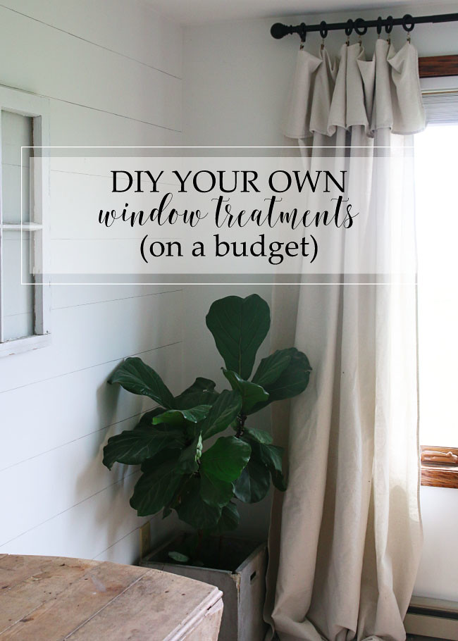 DIY You Own Window Treatments