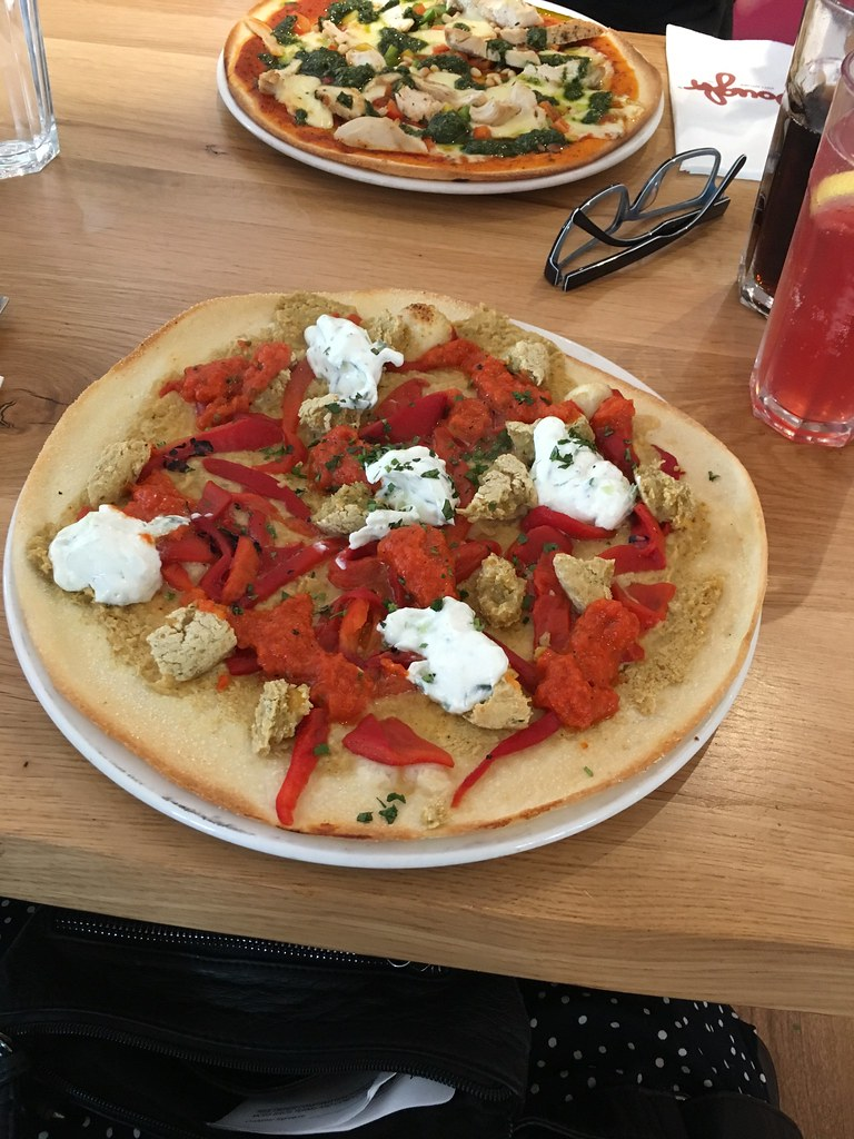 Dough Falafel Pizza