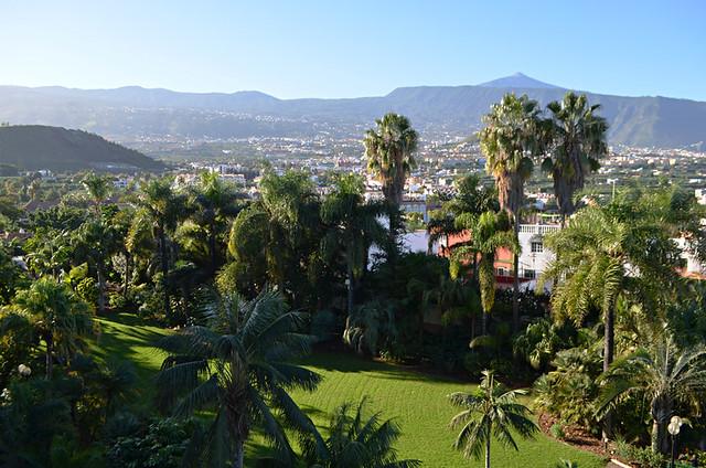 Digital garden at the Hotel Tigaiga in Puerto de la Cruz