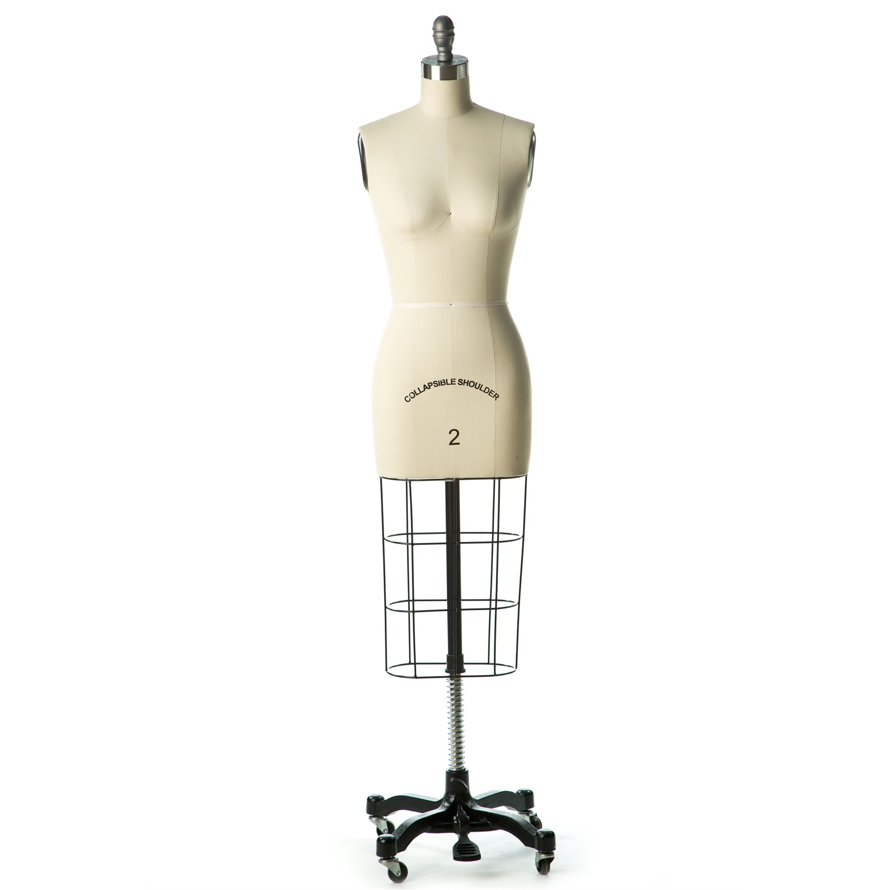 The Shop Company Professional Female Dress Form w/ Collapsible Shoulders