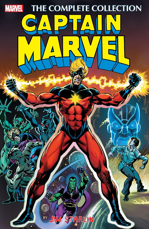 Captain Marvel Jim Starlin Complete Collection