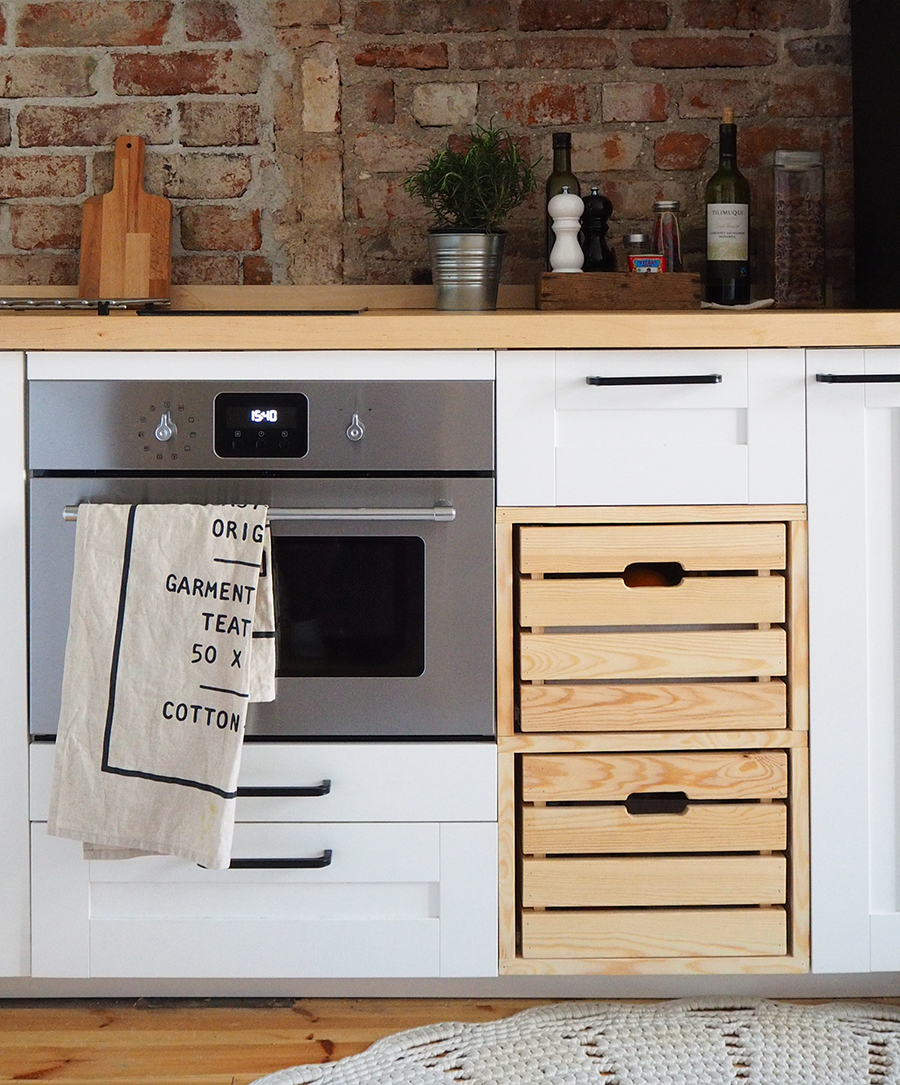 Hassutellen Ikea keittiön suunnittelu ja tuunaus