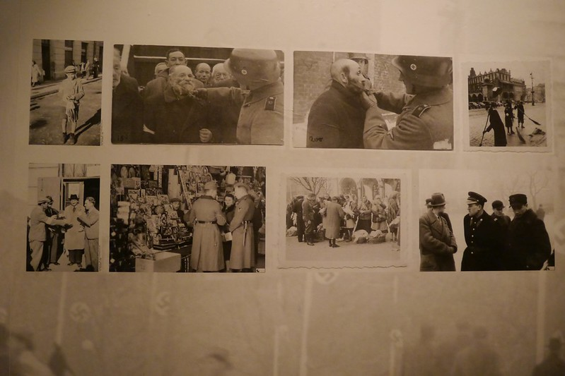 Imágenes del maltratado a los judíos por los nazis