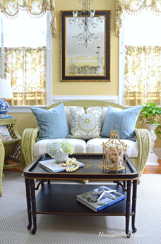 Sunroom Summer Decor-Housepitality Designs