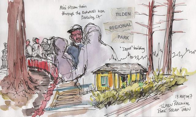 Tilden Regional Park train