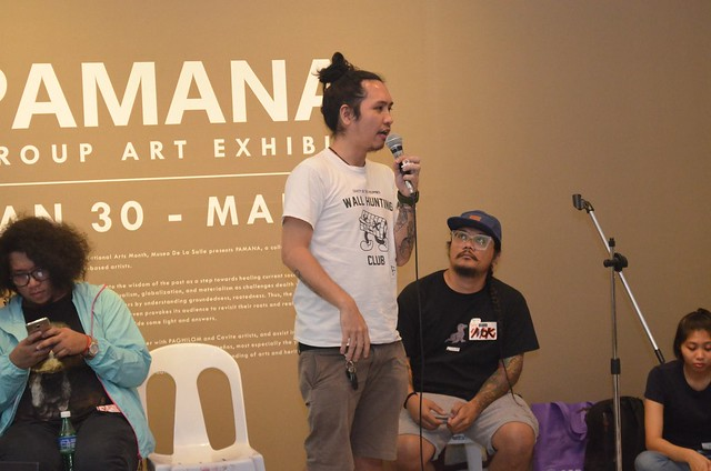 Mural Painting Talk by the street artist group, CVTY Collective at Museo de La Salle-Dasmarinas