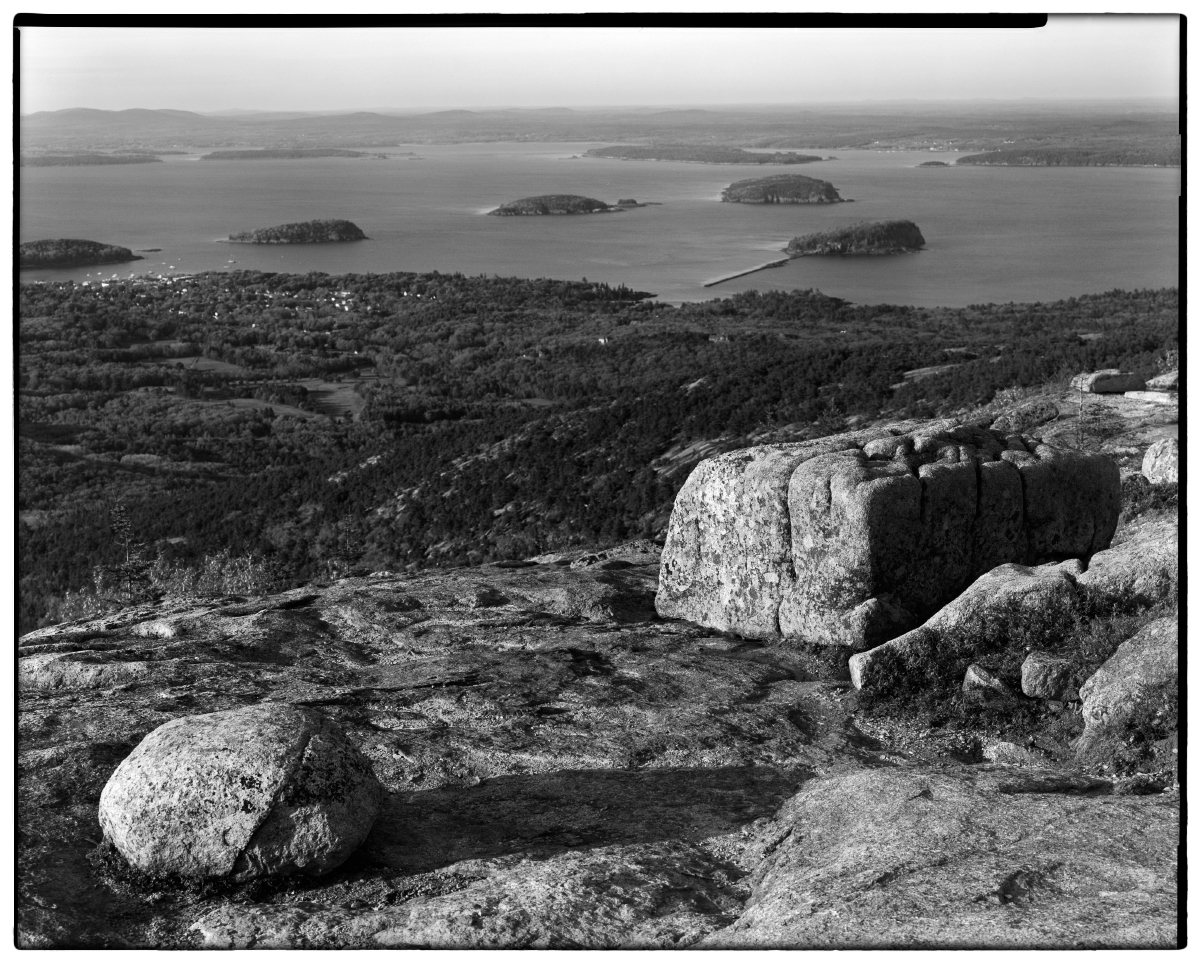 Bar Harbor Sound, View from Cadillac Mtn Summt, Acadia N.P., US
