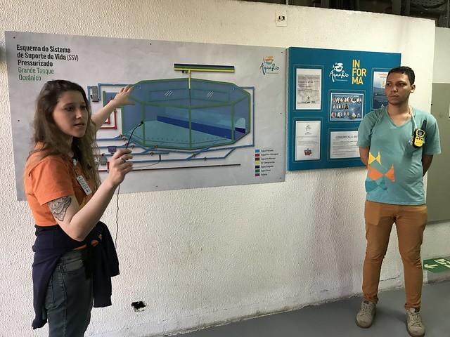 Visita aos bastidores do AquaRio