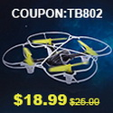 TECHBOY TB-802 Remote Control Drone with coupon code discount