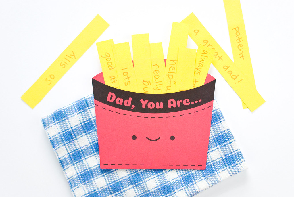 Fathers Day Fry Box