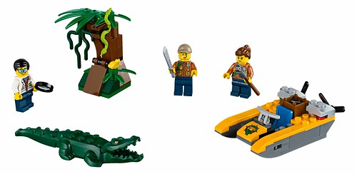 LEGO City 60157 Jungle Starter Set 00