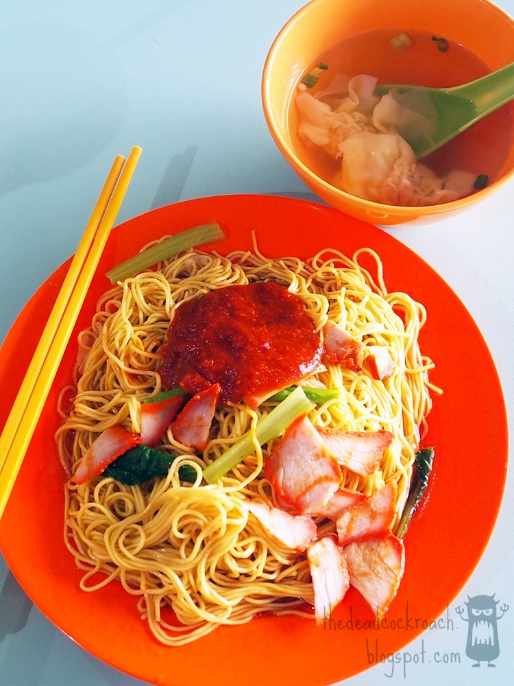 food, food review, jurong west food centre, kok kee, kok kee wanton noodle, review, singapore, wanton noodles, 云吞面, 国记, 国记云吞面