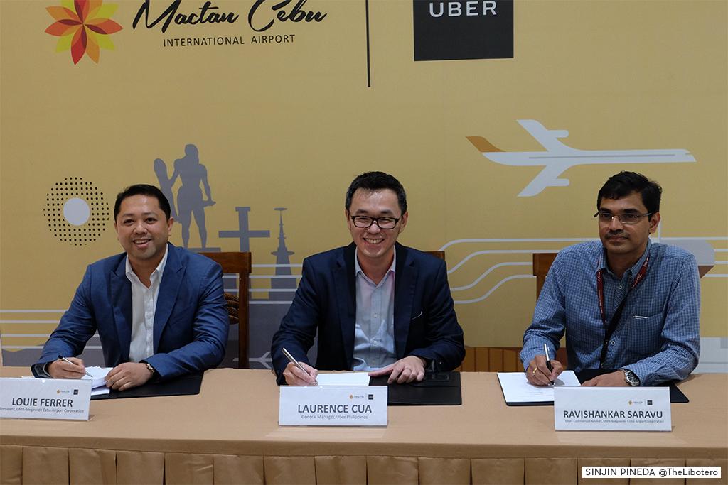 Uber Mactan Cebu Airport