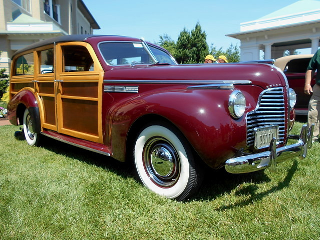 1940 Buick Super Estate Wagon Originally Sold To Warner Br Flickr