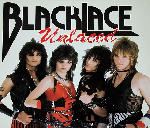 "BLACKLACE UNLACED 12"" vinyl LP"