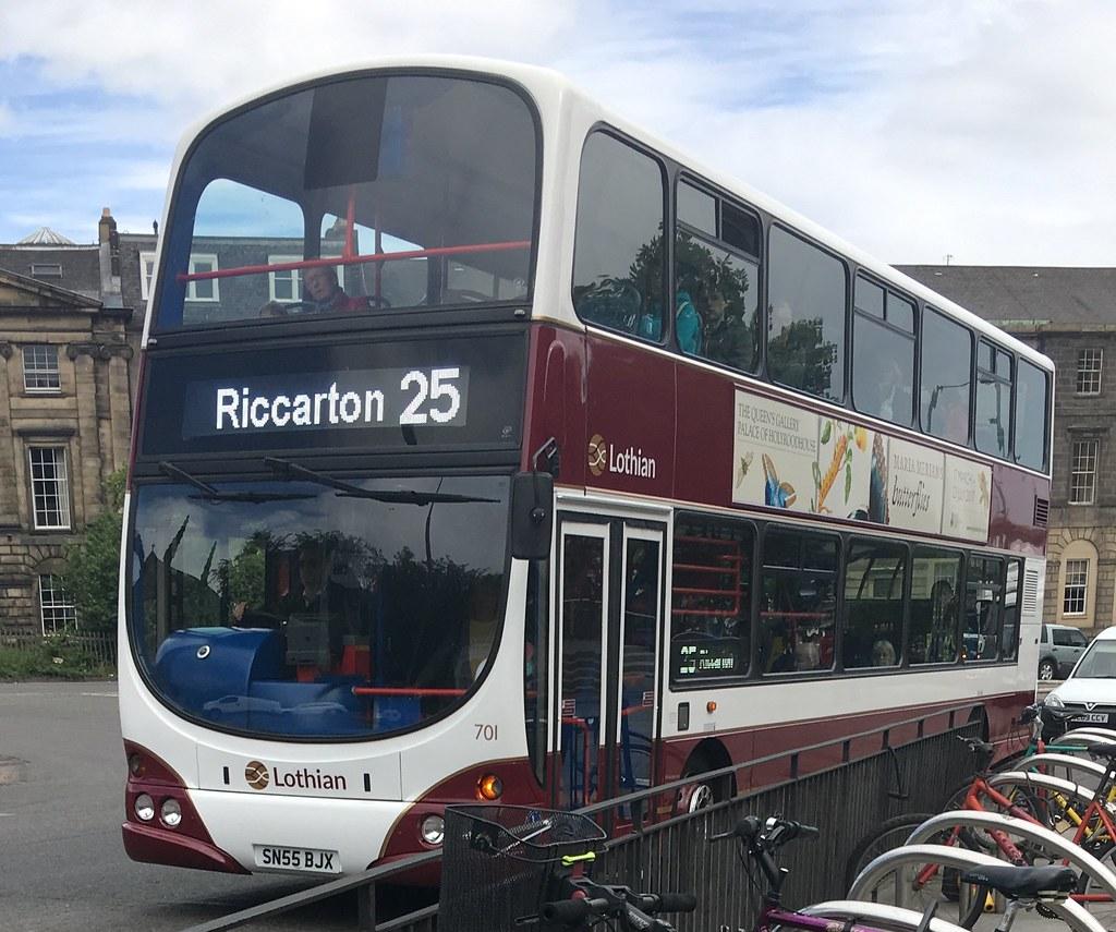 lothian buses 701 sn55 bjx (15.06.2017) | lothian buses 701 … | flickr
