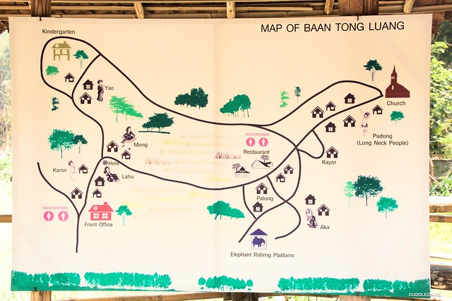 BAAN TONG LUANG MAP