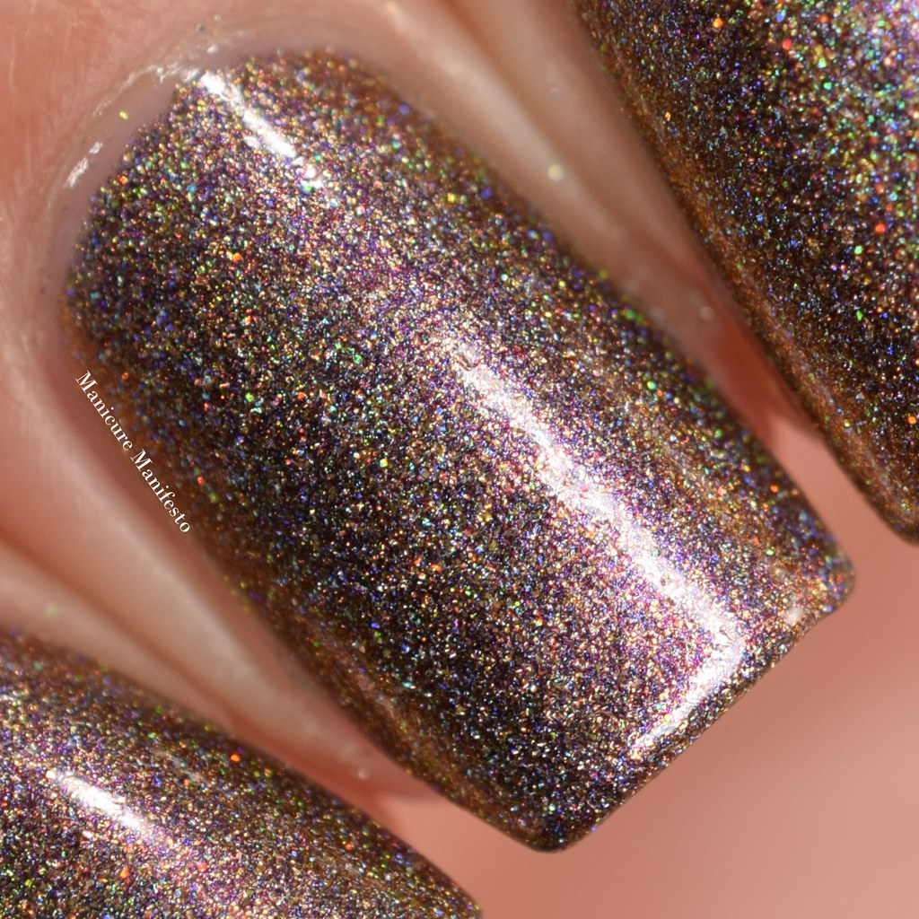 Girly Bits multichrome madness swatch