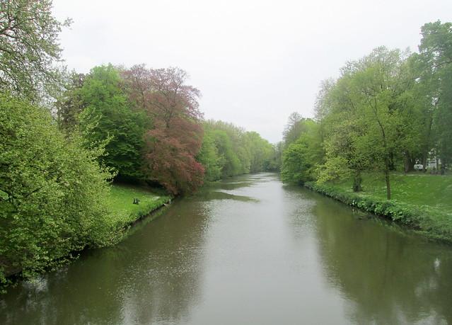 Canal (Moat) from Smedenpoort Bridge, Bruges