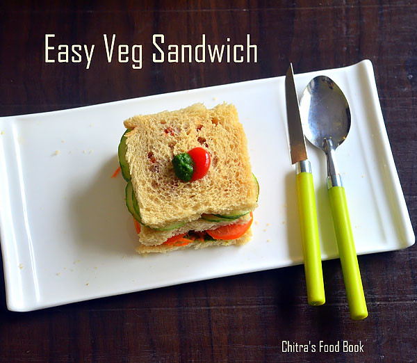 Easy Veg Sandwich Recipe