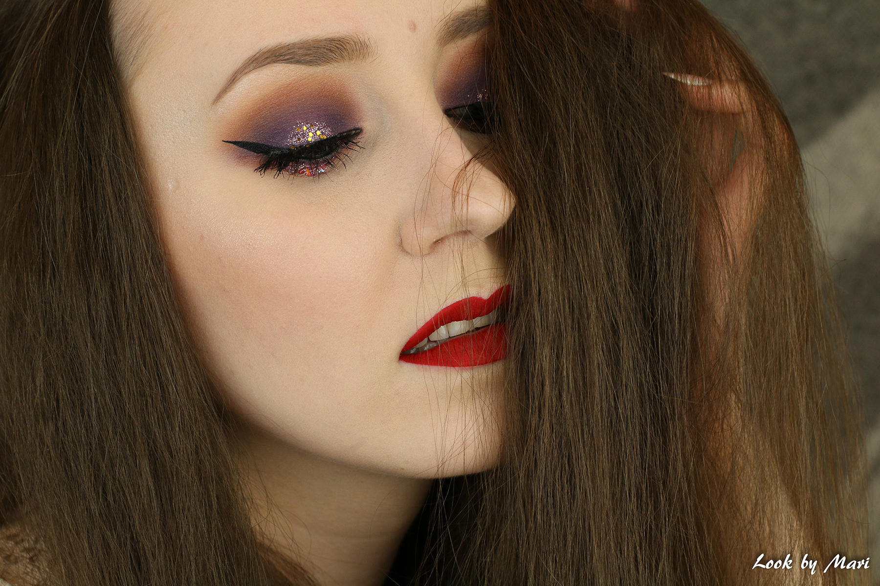 4 morphe brushes 35P eyeshadow palette review inspo inspiration makeup look tutorial