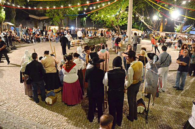 Local festival, Azeitao, Portugal