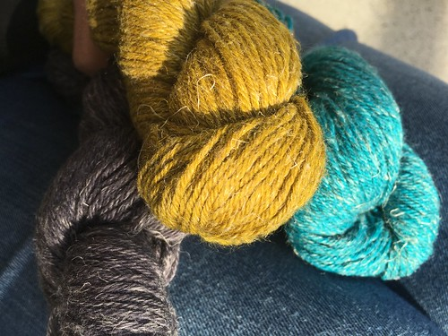 Carol Feller's yarn line Nua