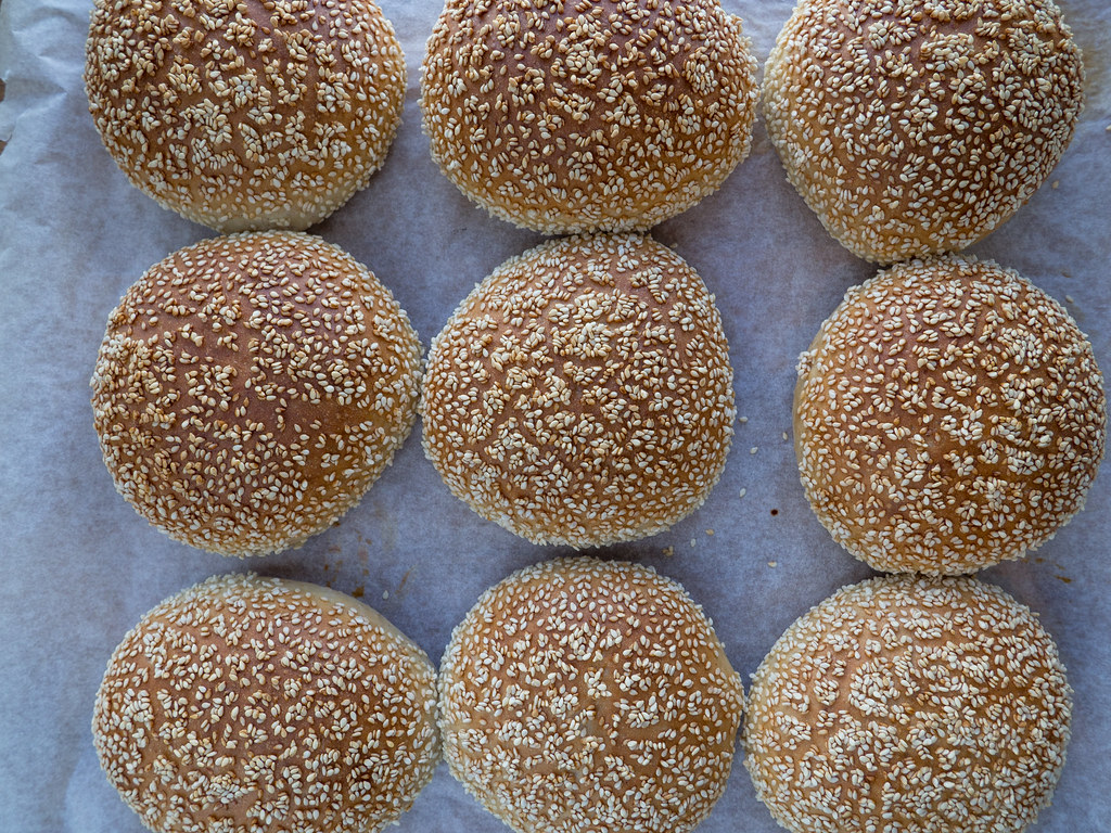 Recipe for the Best Homemade Burger buns
