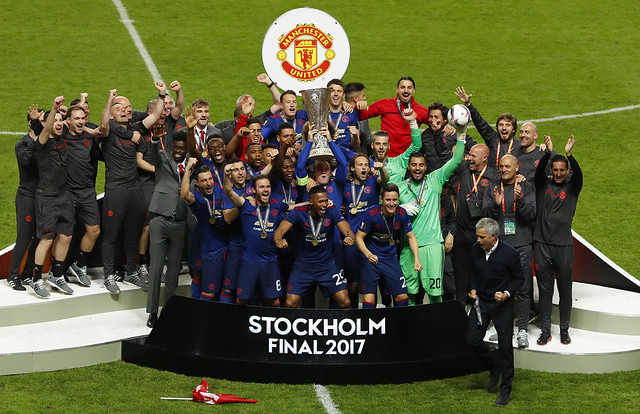 Manchester United crowned Europa League champions