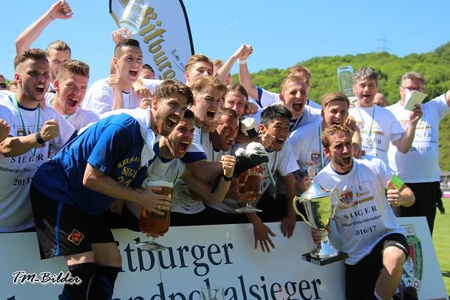 Rheinlandpokal-Finale: Eintracht Trier - TuS Koblenz 1:2 34508222570_d94d058a1a_z