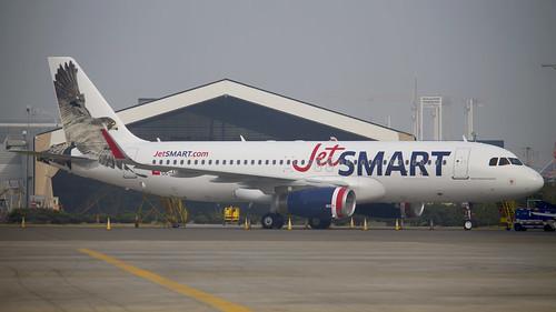 Airbus A320-232(SL) / JetSmart / CC-AWA