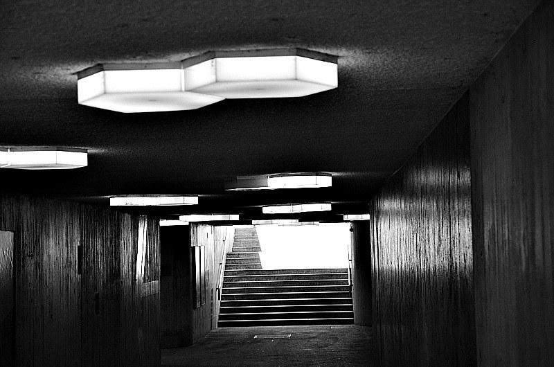 Lamps in Pedestrian tunnel, Baselstrasse, Solothurn