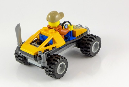 LEGO City 60156 Jungle Buggy 05