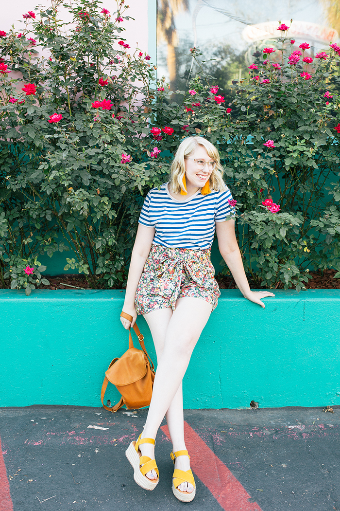 austin style blogger writes like a girl jcrew liberty floral shorts20