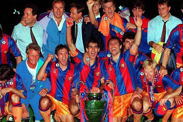 25 años de la primera Copa de Europa del FC Barcelona