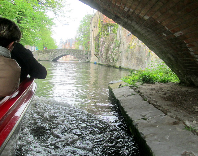 Under Canal Bridge, Bruges