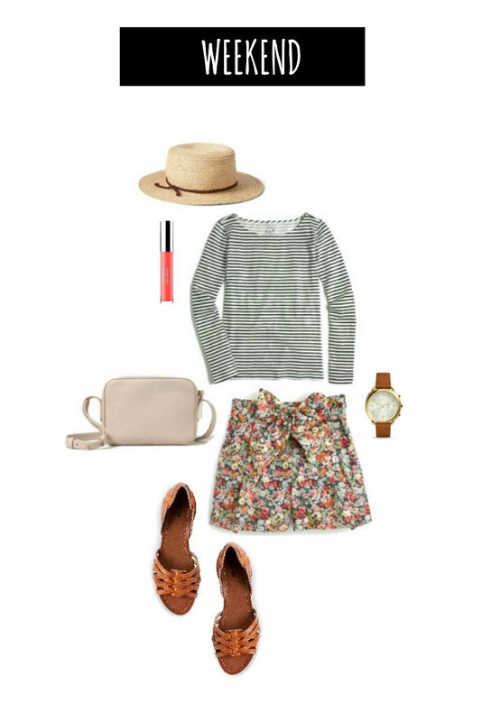 3 ways to wear floral shorts weekend | Style On Target blog