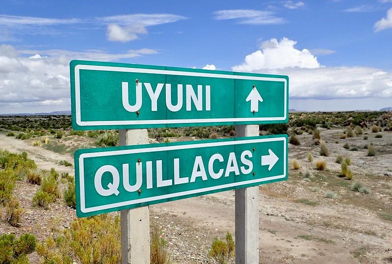 De Quillacas a Uyuni.