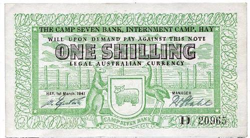 Rosenblum 2017-06 sale Camp Seven One Shilling