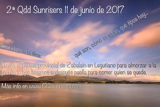 2ª Qdd mensual Sunrisers 11 de junio de 2017