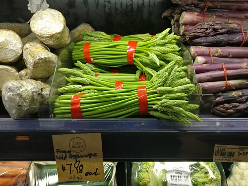 Wild Asparagus from France