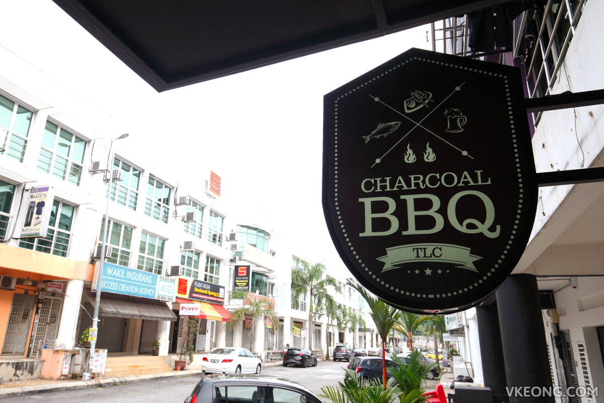 TLC Charcoal BBQ Signboard