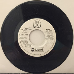ISAAC HAYES:ROCK ME EASY BABY(RECORD SIDE-A)