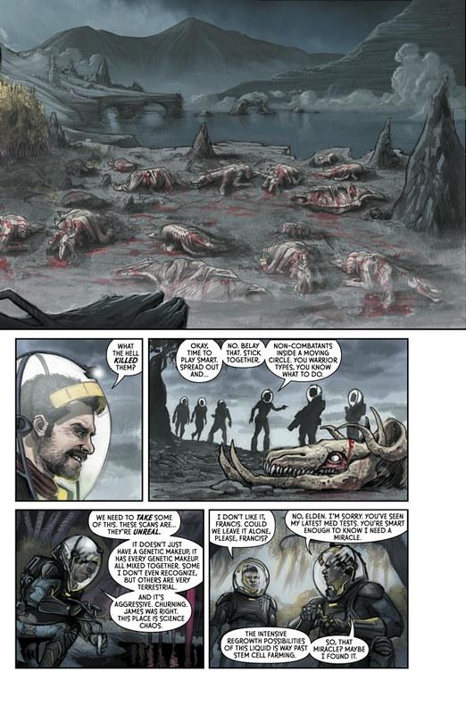 Prometheus - Fire and Stone - strip 1