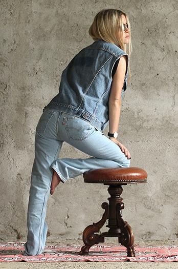 ANGELO vintage jeans donna levi's