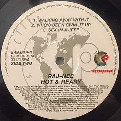 RAJA-NEE:HOT & READY(LABEL SIDE-B)