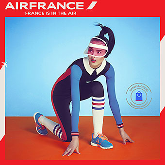 Air France afiche carrera (Air France)