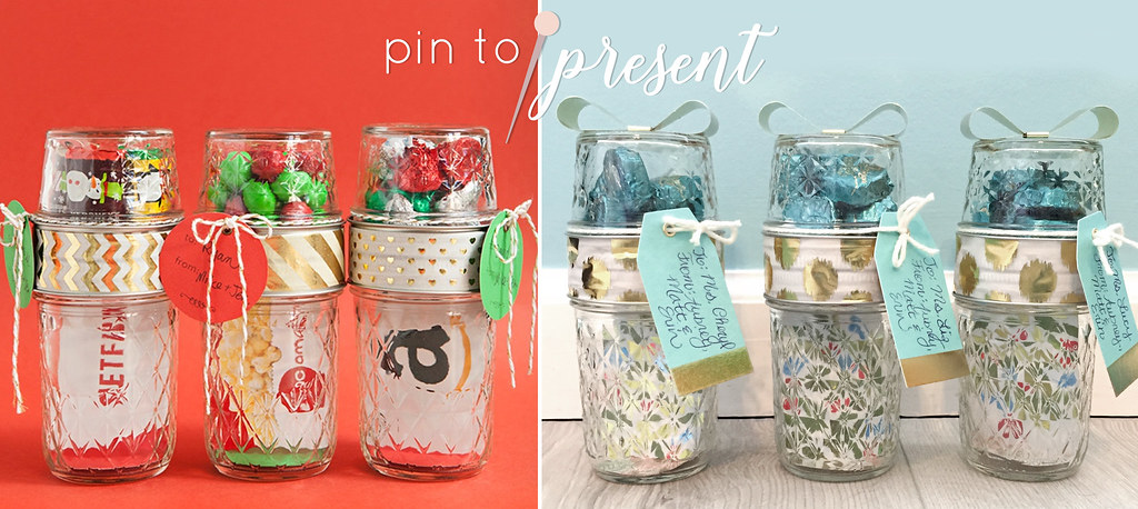 mason jars pin to present