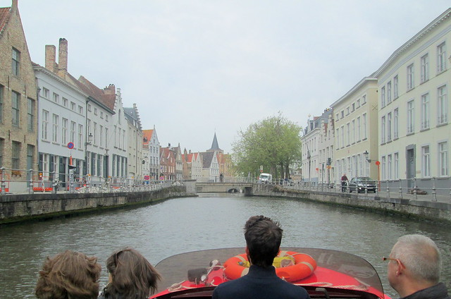 View from Boat, Bruges