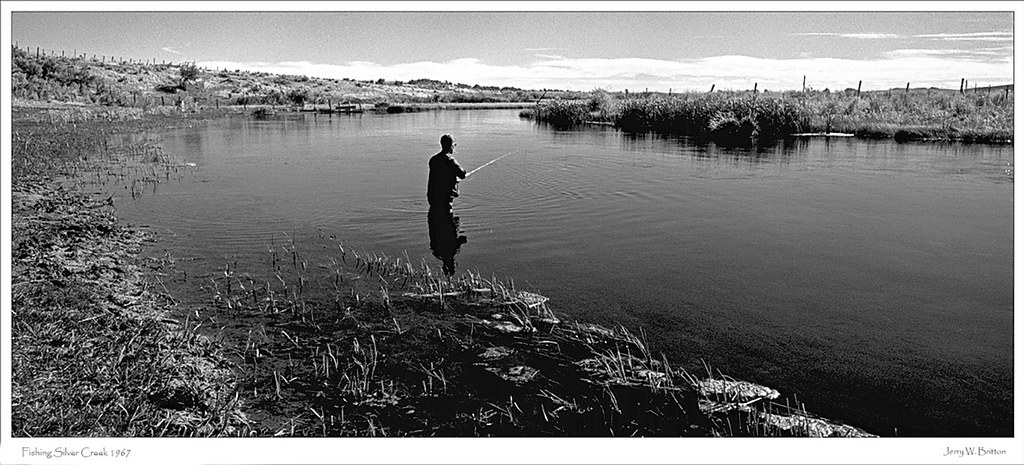 Fishing silver creek 1967 my uncle 50 years ago fly for Silver creek fishing report